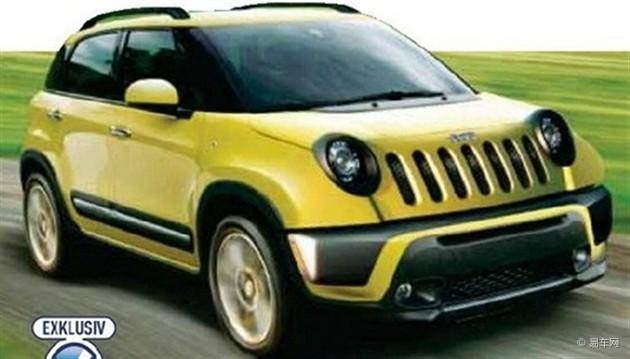 Jeep小型SUV定名Jeepster 日内瓦车展亮相