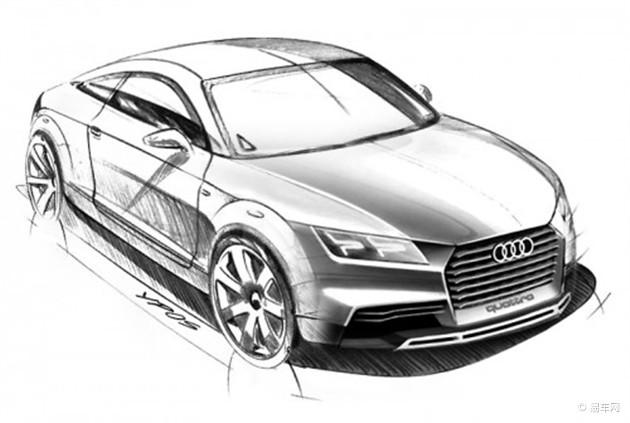 全新奥迪TT渲染图发布 2014年底海外发布