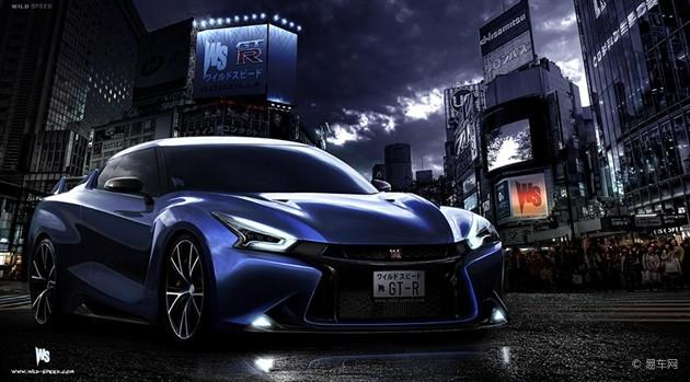 新一代日产GT-R效果图曝光 或2016年发布