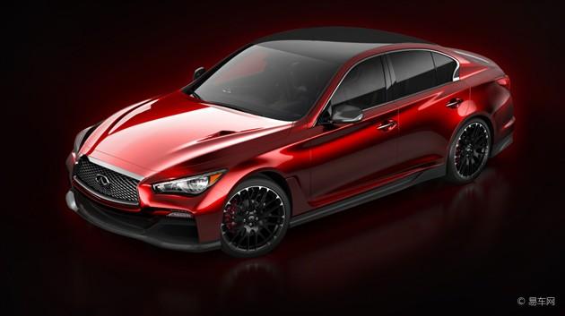 英菲尼迪Q50 Eau Rouge概念车官方图发布
