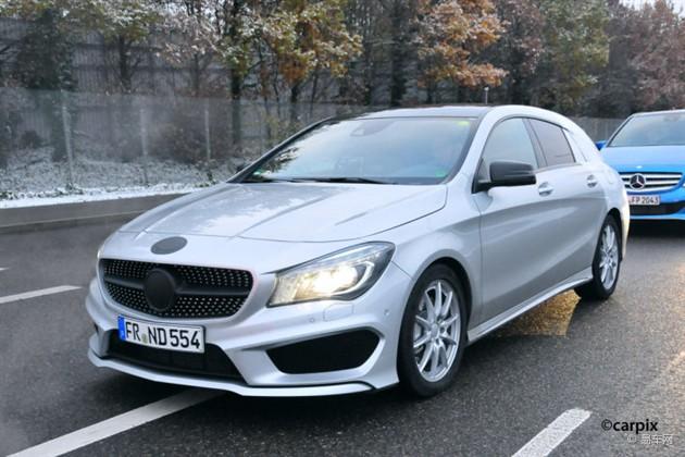 奔驰CLA猎装车年底发布 售价约3万欧元
