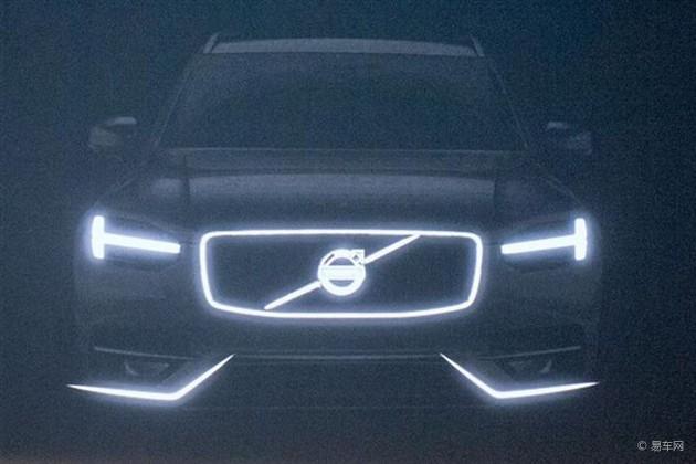 沃尔沃新XC90或亮相巴黎车展 明年初上市