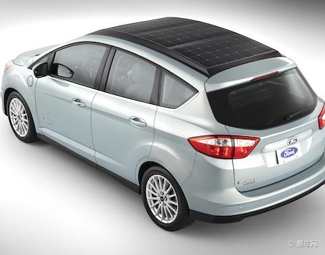 福特s-max概念车_福特c-max太阳能概念车亮相ces电子消费展
