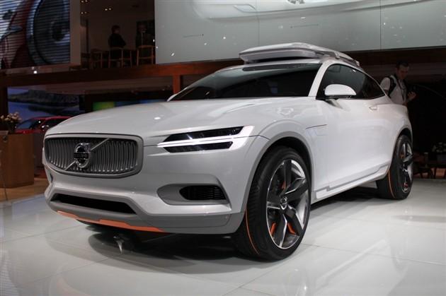 沃尔沃XC概念车首发 亮相底特律车展