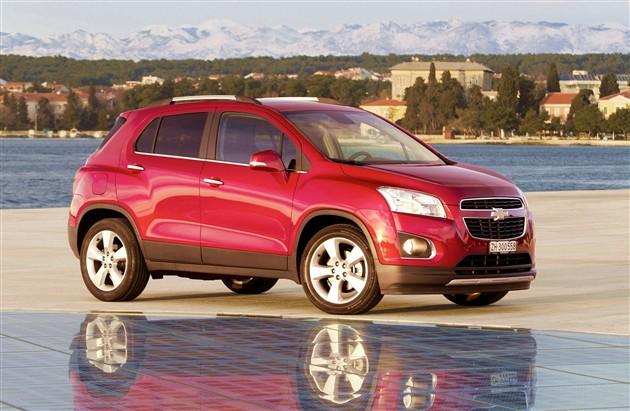 雪佛兰SUV国产定名TRAX创酷 二季度上市