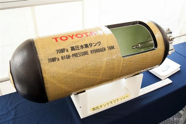 丰田回击FCV安全隐患 氢气燃料罐可防弹