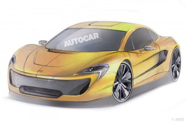 迈凯伦将推两款全新超级跑车 代号P13/P15