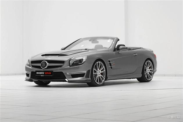 巴博斯推SL63 AMG改装方案 功率达850马力