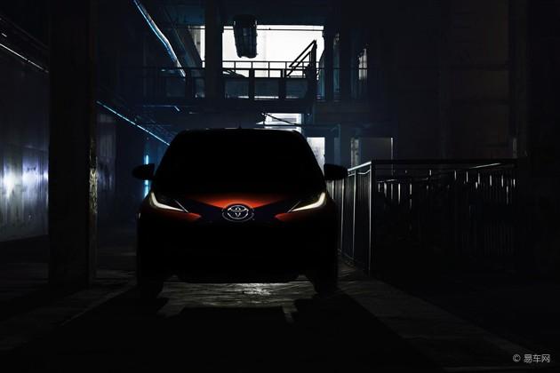 新一代丰田Aygo预告图发布 将亮相日内瓦