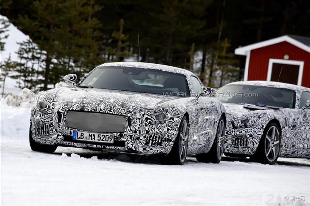 全新奔驰AMG GT曝光 预计今年10月发布