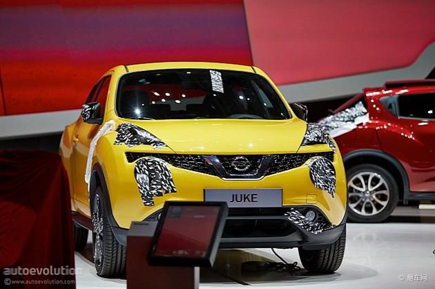 日产改款Juke亮相日内瓦 搭载1.2T发动机