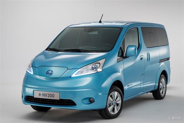 日产e-NV200官方图片 日内瓦车展正式发布