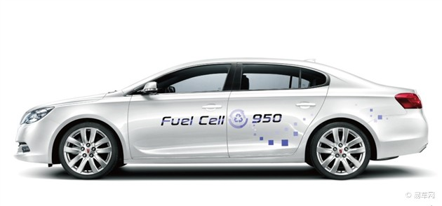 荣威950插电式燃料电池车型将于车展发布