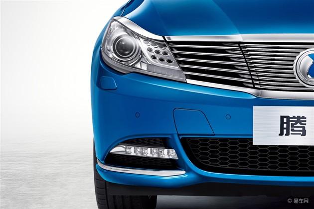 腾势电动汽车细节官图 北京车展将首发