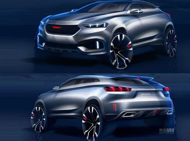 哈弗概念SUV设计草图曝光 北京车展首发