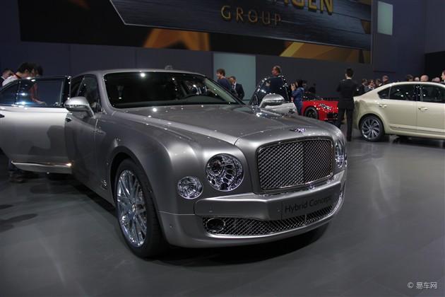宾利混动概念车全球首发 北京车展亮相
