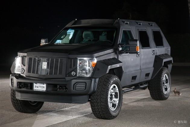 勇士乔治巴顿北京车展发布 搭载V10发动机