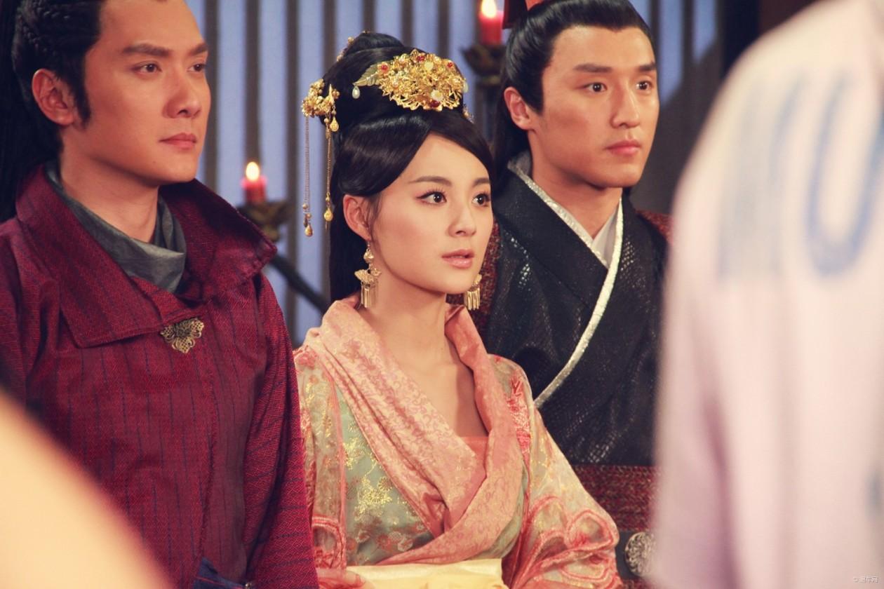 兰陵王中的所有歌曲_毛林林曾在电视剧《兰陵王》中饰演北齐皇后郑儿