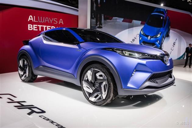 丰田C-HR/FCS概念车巴黎车展正式发布