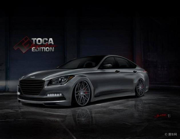 现代与Toca联手改装Genesis 将于SEMA展出