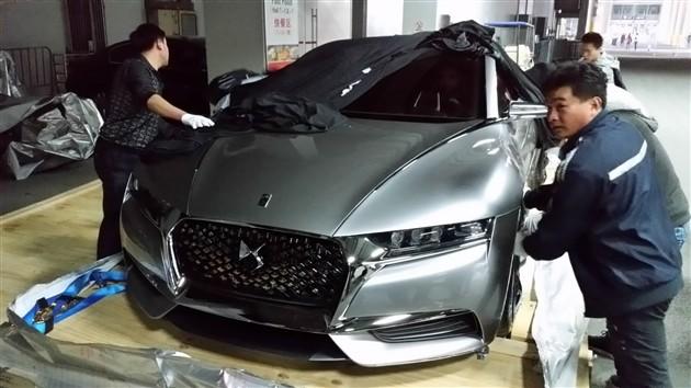 2014广州车展探馆 DS神韵概念车亮相
