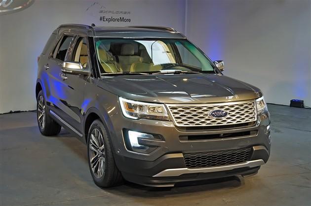 新款探险者洛杉矶车展首发 2015年上市
