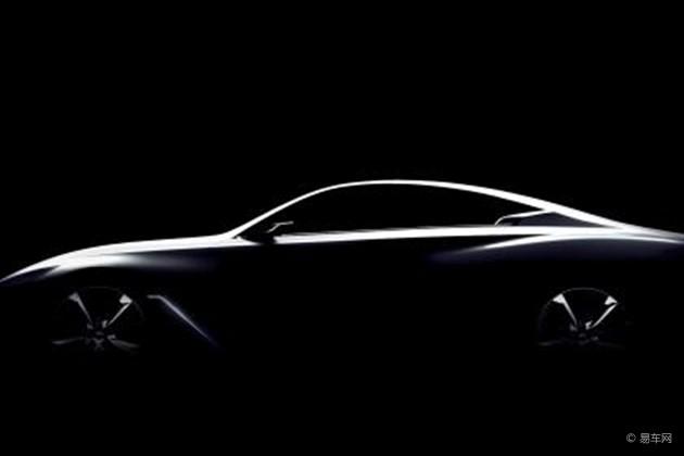 英菲尼迪Q60概念车将于2015年1月正式发布