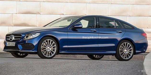 全新奔驰C级Coupe四门版假想图曝光