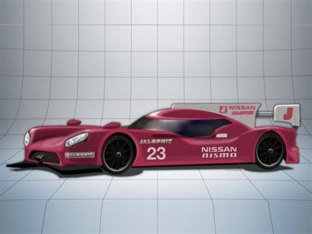GT-R勒芒赛车假想图曝光 或2015年2月亮相