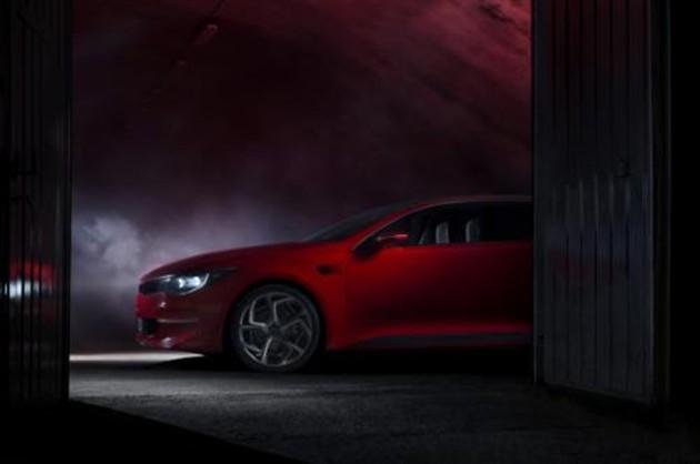 起亚新概念车将亮相日内瓦 揭示新K5外观