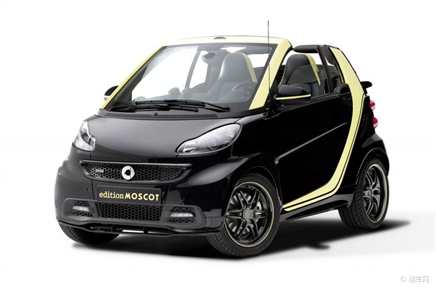smart推MOSCOT敞篷特别版车型 限量100台