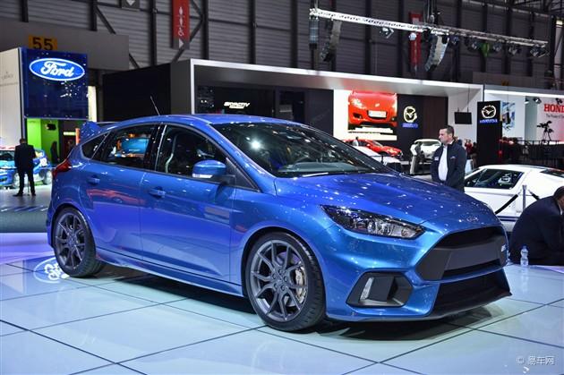 2015日内瓦车展 新一代福克斯RS亮相