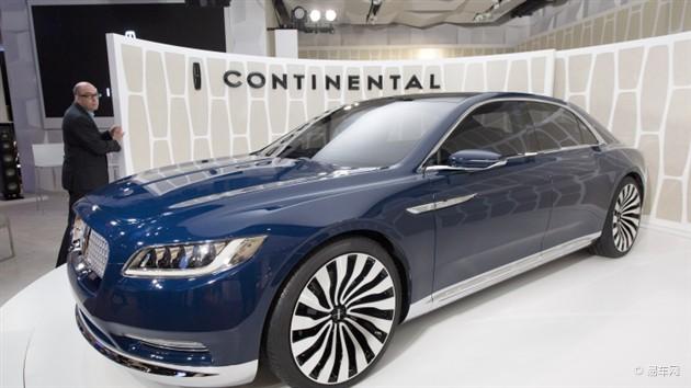 林肯Continental概念车亮相纽约车展