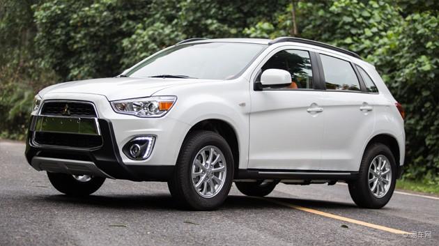2015款劲炫ASX新增两款车型 售16.88万起