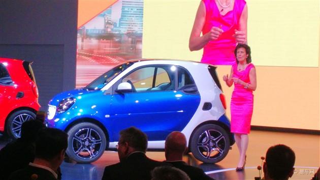 smart fortwo上海车展亮相 或8月上市
