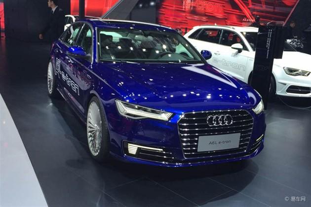 2015上海车展 奥迪A6L e-tron全球首发