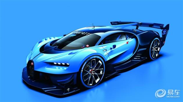 布加迪Vision Gran Turismo概念车图曝光