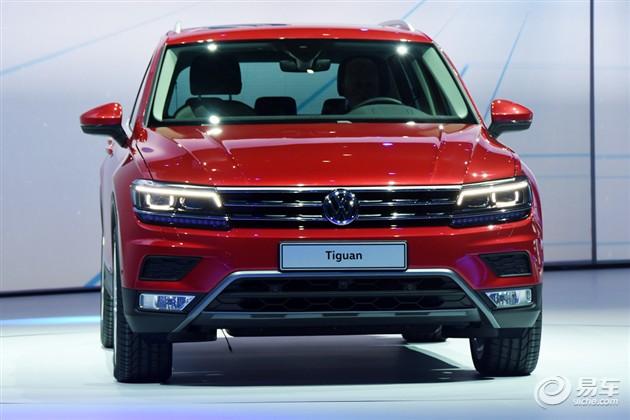 2015法兰克福车展 大众全新Tiguan发布