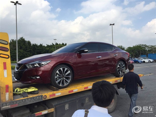 2015广州车展探馆 东风日产西玛曝光