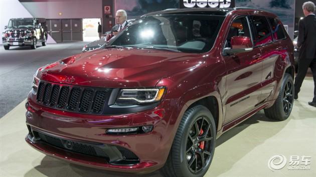 Jeep大切诺基SRT夜色版亮相洛杉矶车展