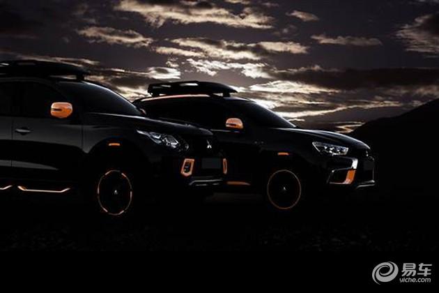 三菱ASX/L200概念车将亮相2016日内瓦车展