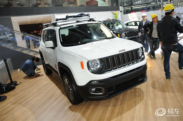 Jeep自由侠75周年致敬版北京车展首发