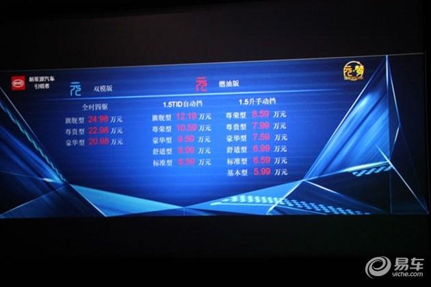 """比亚迪""""元""""临沂地区上市发布 5.99万起"""