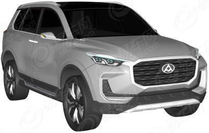 大通全新SUV申报图曝光 或2017年年底上市