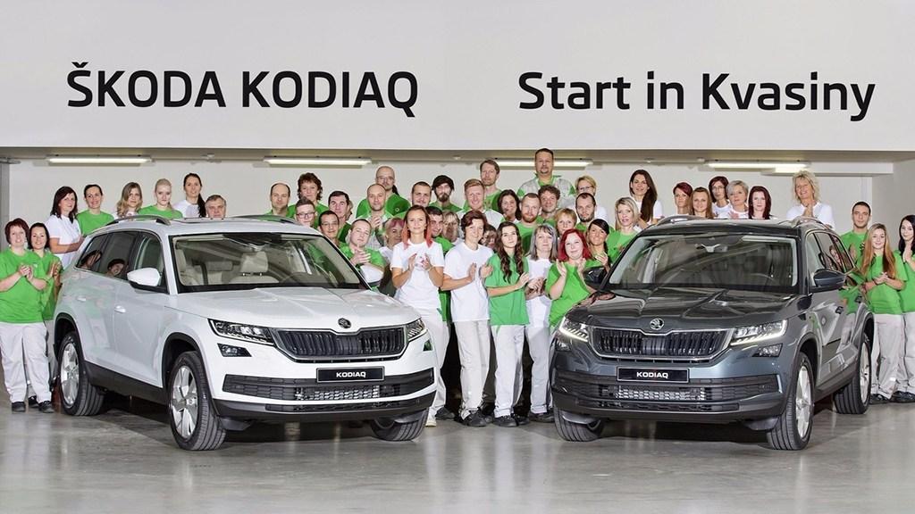 斯柯达KODIAQ投产 国产版广州车展亮相