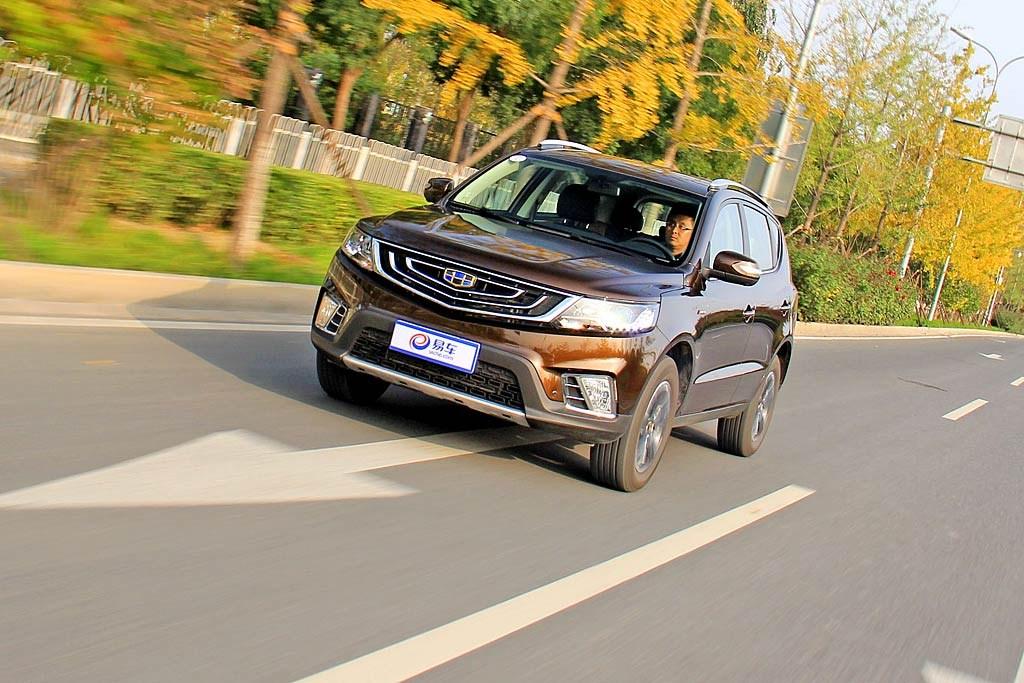 测试远景SUV 全系标配ESP!10万就能买顶配