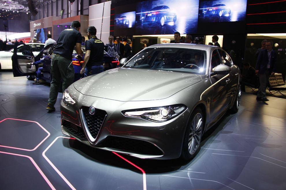 阿尔法罗密欧Giulia将于2017上海车展上市