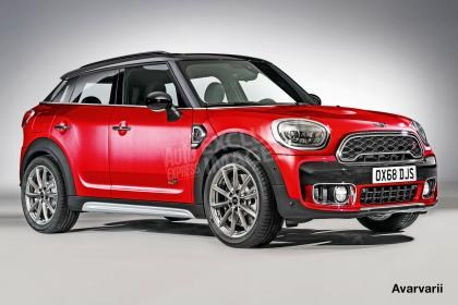 MINI新跨界SUV 曝Countryman coupe效果图