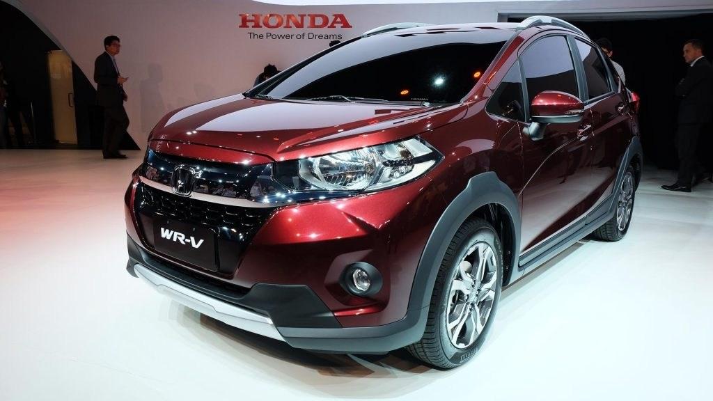 本田WR-V亮相 基于飞度打造/定位小型SUV