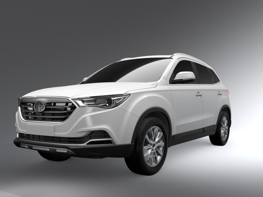 一汽奔腾X40实车曝光 定位小型SUV -奔腾汽车新闻 全部 导购 评测 科